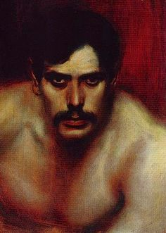 Franz Von Stuck. Franz Von Stuck was am influential German Symbolist/Art Nouveau painter, sculptor, engraver, and architect born at Tettenweis near Griesbach. He was noted for his treatment of erotic and comic aspects of mythological themes.  As a child he quickly became a gifted caricaturist.