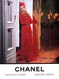 Claudia Schiffer by Karl Lagerfeld, 1992