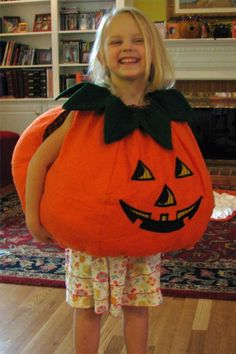 How to Make a Great Pumpkin Costume | Suhow