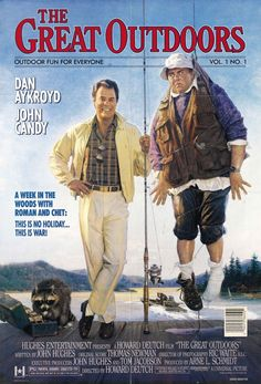 """The Great Outdoors (1988) """" The old 96er!! """" Great stuff!! Love this 80s Movie Posters, 80s Movies, Funny Movies, Comedy Movies, Great Movies, Awesome Movies, Throwback Movies, Funniest Movies, Childhood Movies"""