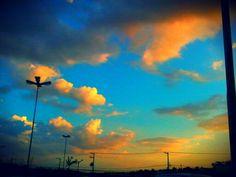 uma pintura no céu