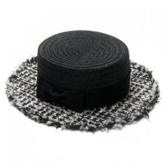High Fashion Houndstooth Hat #YouCanNeverHaveTooMany