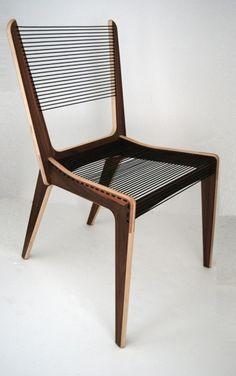 Jeacques Guillon Cord Chair