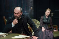 Ghosts at the Almeida Theatre, Will Keen and Lesley Manville October 2013