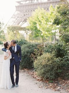 Elegant Romantic Paris Elopement