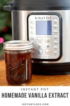Instant Pot Vanilla Extract instantloss.com