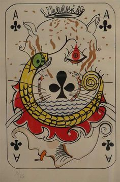 SALVADOR DALI. ACE OF CLUBS. THE HOKEY POKEY MAN AND AN INSANE HAWKER OF FISH BY CONNIE DURAND. AVAILABLE ON AMAZON KINDLE.