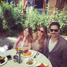 Pin for Later: Stars Share Fun Instagrams of Their Festive Easter Celebrations Sofia Vergara and Joe Manganiello had an outdoor brunch with family.