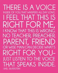 Shel Silverstein The Voice Modern Art Print by FieldandFlower. , via Etsy.