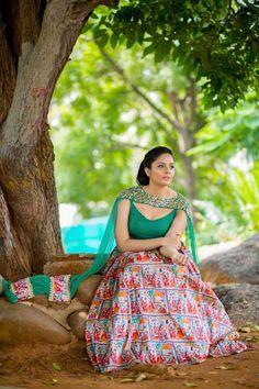 Telugu TV Anchor Sreemukhi Hot Looking In Blue Lehenga Choli Beautiful Girl In India, Most Beautiful Indian Actress, Beautiful Saree, Indian Photoshoot, Saree Photoshoot, Blue Lehenga, Lehenga Choli, Anarkali, Sonam Kapoor