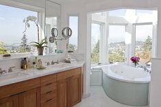bath floor tile and vanity