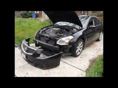 2007 Nissan Maxima Headlight Bulb Replacement (how to)