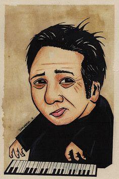 Portre Karikatür: Fazıl Say Portre