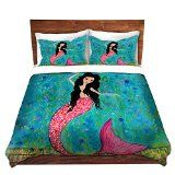 Duvet Cover Dancing Mermaid $133.00 www.mermaidhomedecor.com - Mermaid Bedding