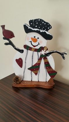 #şivecollection#snowman#snow#bird#wood#handmade#new year#oymacılık#