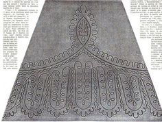 1864.  La Mode Illustree.  Braid pattern.
