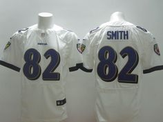 "$23.88 at ""MaryJersey"" (maryjerseyelway@gmail.com) #82 Torrey Smith - Nike Baltimore Ravens  Fashion Stitched Men's White New Style Football Jersey"