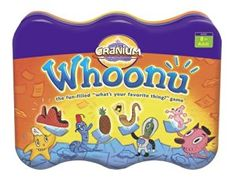 Amazon.com: Cranium Whoonu (Tin): Toys & Games