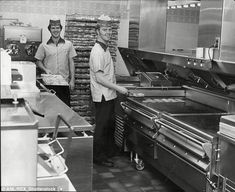 Image result for kitchen staff 1980s