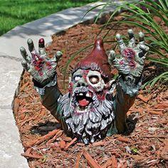 Design Toscano Zombie Gnombie Statue & Reviews | Wayfair