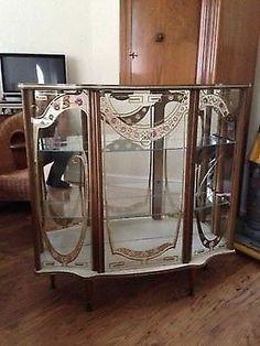Denmor 1950s Display Cabinet