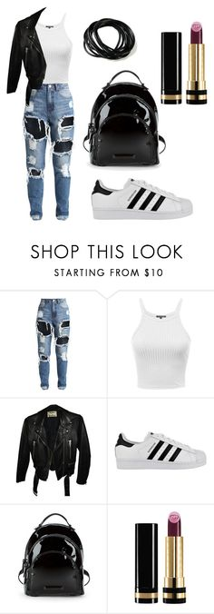 """""""Untitled #69"""" by bettina-agoston on Polyvore featuring Acne Studios, adidas, Kendall + Kylie and Gucci"""