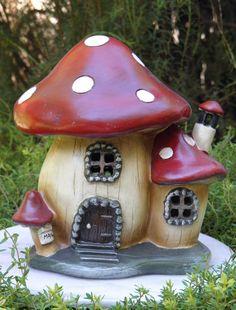 Gnome Mushroom House :D