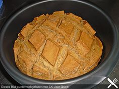 Dinkel - Roggen - Brot im UltraPro von Tupperware leicht gemacht