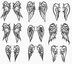 Anime Angel Wings Tattoo | hairstylegalleries.com