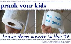 13 of the Best Pranks Kids Can Do by Rachel at Kids Activities Blog