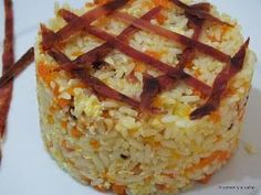 Arroz Nelba com Ther Fun Cooking, Cooking Time, Recetas Monsieur Cuisine Plus, Rice Recipes, Healthy Recipes, Good Food, Yummy Food, Crazy Cakes, Sweet And Salty