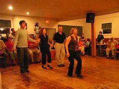 Two couples dance the 'Scotch Four' at West Mabou Hall, Cape Breton, Nova Scotia. Filmed in August Dancers are Helen (or Dawn? Enchanted Island, Square Dance, O Canada, Cape Breton, Newfoundland, Male Face, Nova Scotia, Beautiful Islands, Live Music