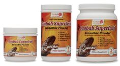 Super Antioxidant Food Organic Baobab Fruit