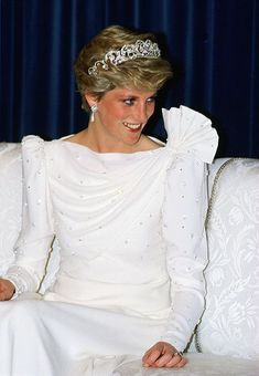 "thecatalogueofroyalfashion: ""Diana, Princess of Wales 