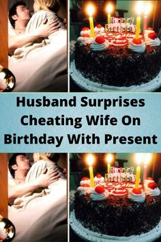 #Husband #Surprises #Cheating Wife On #Birthday With #Present Wtf Funny, Funny Memes, Hilarious, Funny Laugh, Best Birthday Surprises, Inspirational Short Stories, Spotlight Stories, Surprises For Husband, Sweet Revenge