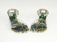 The Data Sandals are the World's Nerdiest Shoes #shoes #footwear trendhunter.com