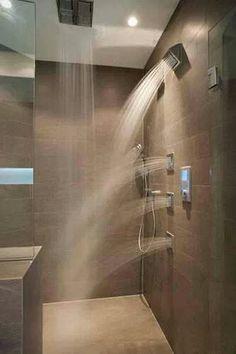 most sophisticated shower design ideas for a stunning bathroom - living design - Badewanne - badezimmer Dream Bathrooms, Beautiful Bathrooms, Luxury Bathrooms, Modern Bathrooms, Master Bathrooms, Hotel Bathrooms, Luxury Hotel Bathroom, Luxury Kitchens, Dream Shower