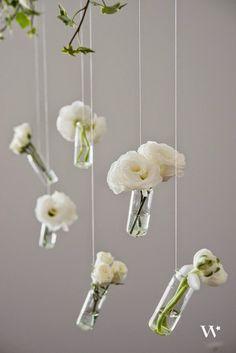 Le Frufrù: Vasi appesi: una decorazione fai da te.