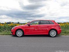 Seitenansicht des Audi A3 Sportback e-tron