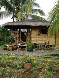"Nipa hut....in Philippines we call it ""bahay kubo""."