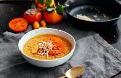 Unique! Turmeric Persimmon Porridge from Nutrition Stripped