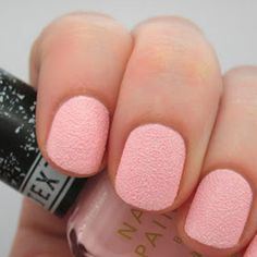 For a look that's not so polished, try textured nails!