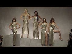 (25) Versace | Spring Summer 2018 Full Fashion Show | Exclusive - YouTube