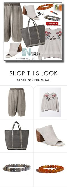 """""""Mules"""" by zenstore ❤ liked on Polyvore featuring Rick Owens, Issa, Vanessa Bruno and Kenneth Cole"""