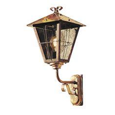Konstsmide Fenix wandlamp opwaarts, ruiten in rookglas!
