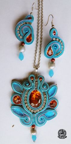 Soutache set in Blue