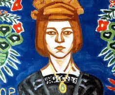 Olga Rózanova a Russian avant-garde artist in the styles of Suprematist, Neo-Primitivist, and Cubo-Futurist. Russian Painting, Russian Art, Kandinsky, Art Nouveau, Avantgarde, Avant Garde Artists, Art Moderne, Art Studios, Art And Architecture