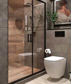 Washroom Design, Toilet Design, Bathroom Design Luxury, Bathroom Layout, Modern Bathroom Design, Small Bathroom, Bathrooms, Industrial Bathroom Design, Wc Design