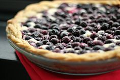 Blueberry Cream Cheese Pie by eatswellwithothers, via Flickr