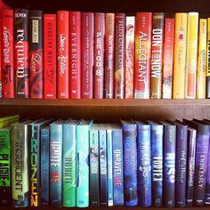 Rainbow Bookshelf Aesthetic